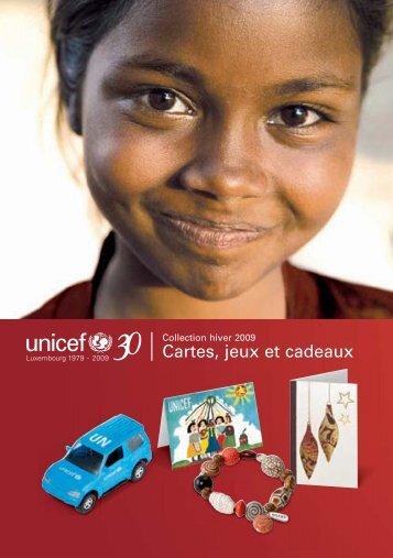 Cartes, jeux et cadeaux - Le shop de l'UNICEF Luxembourg