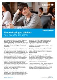 short version of the report for young people - Unicef UK