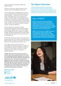 short version of the report for young people - Unicef UK - Page 4