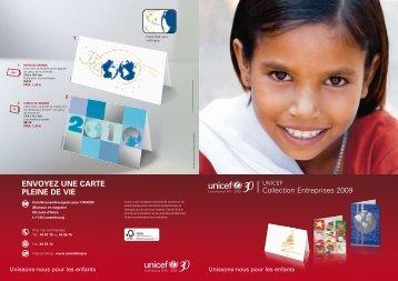 EnVoyEz unE CArtE PLEinE dE ViE - Le shop de l'UNICEF ...