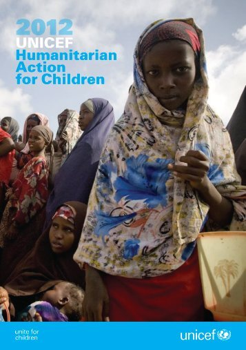 UNICEF Humanitarian Action for Children