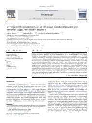 Investigating the neural correlates of continuous ... - ResearchGate