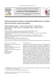 Neuroanatomical markers of individual differences ... - ResearchGate