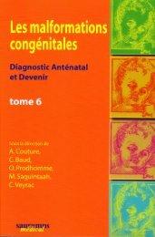 Les malformations congénitales - INSERM-CEA Cognitive ...