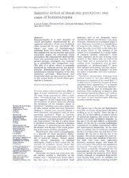 Service de Neurologie, Hopital de la