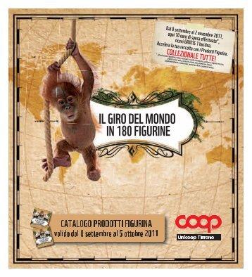 IL GIRO DEL MONDO IN 180 FIGURINE - Unicoop Tirreno