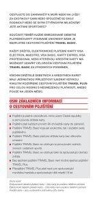 PŘÍRUČKA CESTOVNÍHO POJIŠTĚNÍ - Unicredit Bank - Page 2