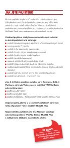 PŘÍRUČKA CESTOVNÍHO POJIŠTĚNÍ - Unicredit Bank - Page 3