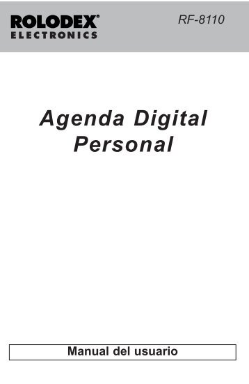 Agenda Digital Personal - Franklin Electronic Publishers