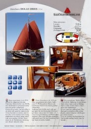 Plattbodenschiff mieten bei Sailcharter Friesland