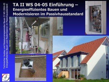 Einführungsveranstaltung TA 2 - Unics.uni-hannover.de