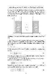 Anmerkungen zum Modell des Teilchens im Kasten - Unics.uni ...