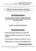 01 Folien Brandschutz 3 Intro Inhalt Lernziele - Unics.uni-hannover.de - Page 4