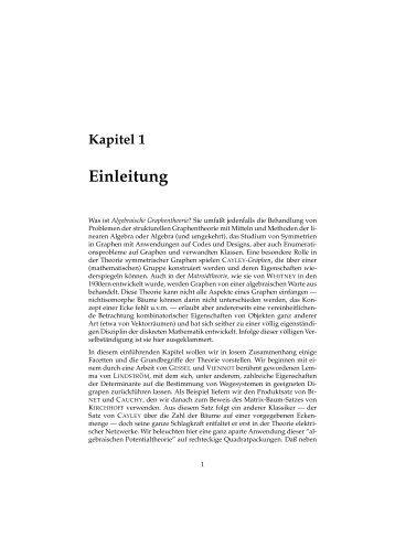 Kapitel 1 Einleitung - Unics.uni-hannover.de
