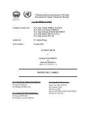 Kayishema et Ruzindana - International Criminal Tribunal for Rwanda