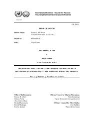 decision on charles munyaneza's motion for disclosure of ...