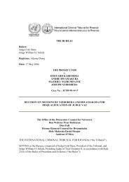 decision on motions by nzirorera and rwamakuba for disqualification ...