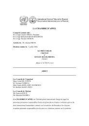 Ignace Bagilishema - International Criminal Tribunal for Rwanda