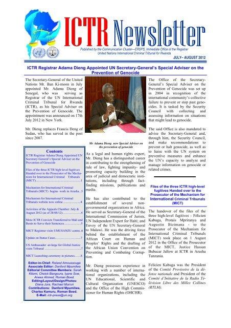 Newsletter July-August 2012(2SK) latest copy - International ...