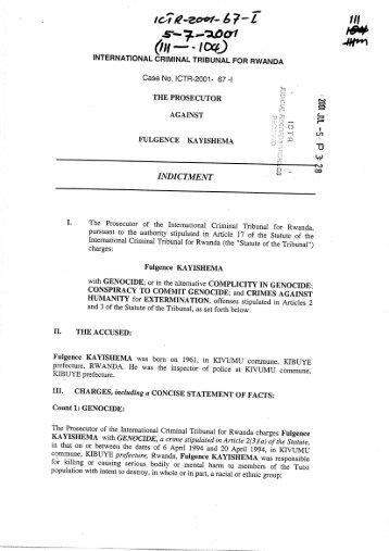 Indictment - United Nations Mechanism for International Criminal ...
