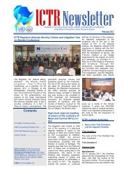 ICTR Newsletter, February 2011 - International Criminal Tribunal for ...