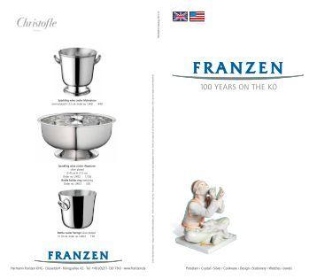 100 YEARS ON THE K? - Franzen
