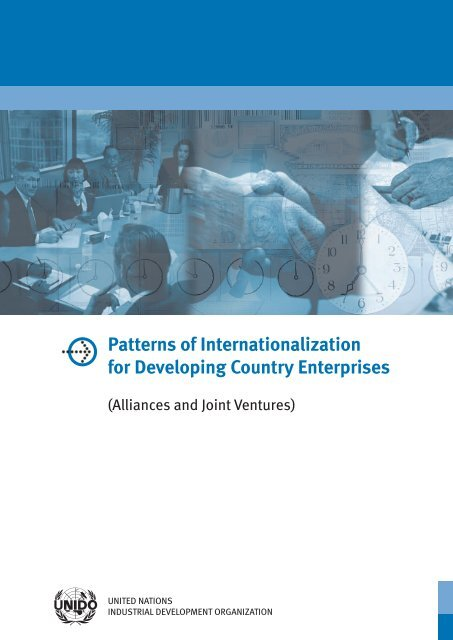 Patterns of Internationalization for Developing Country ... - Unido