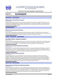 PAYS : SLOVAQUIE - Unido