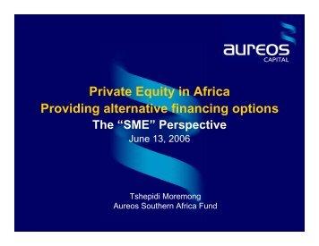 """The """"SME"""" Perspective - Unido"""