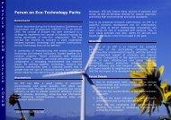 Forum on Eco-Technology Parks - Unido