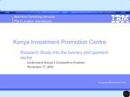 Kenya Investment Promotion Centre - Unido