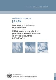 Independent Evaluation JAPAN - Unido