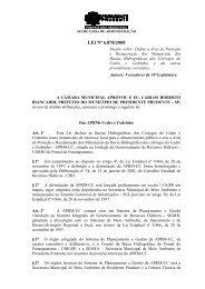 PROJETO DE LEI Nº 50/2003 - Uniesp