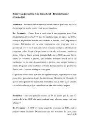 ENTREVISTA REVISTA EXAME - DR FERNANDO - UNIESP