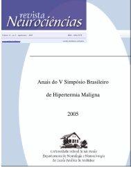 Biópsia e teste de contratura muscular - Revista Neurociências