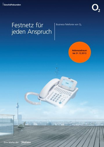 Telefónica o2 – Sprachanschlüsse - Unified Solution GmbH