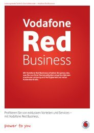 mit Vodafone Red Business. - Unified Solution GmbH