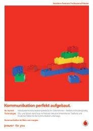 Kommunikation perfekt aufgebaut. - Unified Solution GmbH