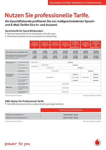Nutzen Sie professionelle Tarife. - Unified Solution GmbH