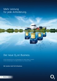 o2on business Tarife - Unified Solution GmbH