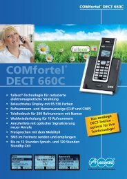 COMfortel® DECT 660C - Unified Solution GmbH