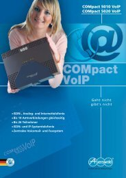 Die COMpact 5010 VoIP