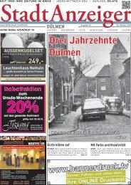 Stadt Anzeiger Dülmen kw 43