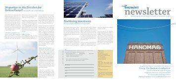 Windwärts Newsletter Nr. 15