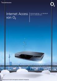 Telefónica o2 SDSL Internetzugang - Unified Solution GmbH