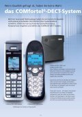 COMfortel® DECT 900C COMfortel® DECT 900 - Unified Solution ... - Page 2