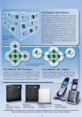 COMfortel® DECT 900C COMfortel® DECT 900 - Unified Solution ... - Page 4