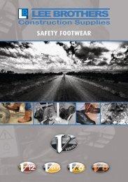 Lee Brothers Safety Footwear Brochure
