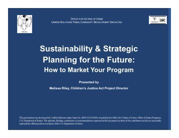 Sustainability and Strategic Planning - Unified-solutions.org