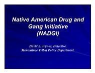Native American Drug and Gang Initiative - Unified-solutions.org
